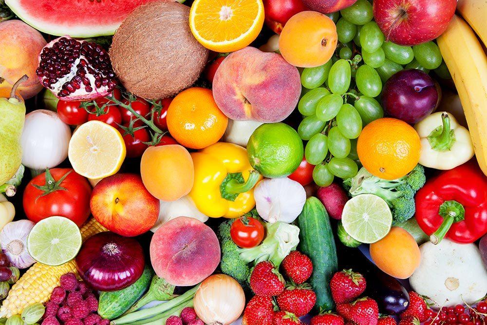 Verdura e frutta per un'abbronzatura sana e uniforme