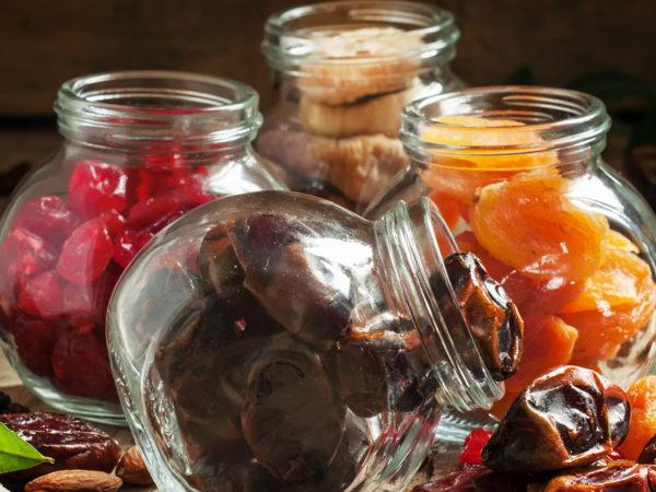 Come conservare in casa la frutta secca