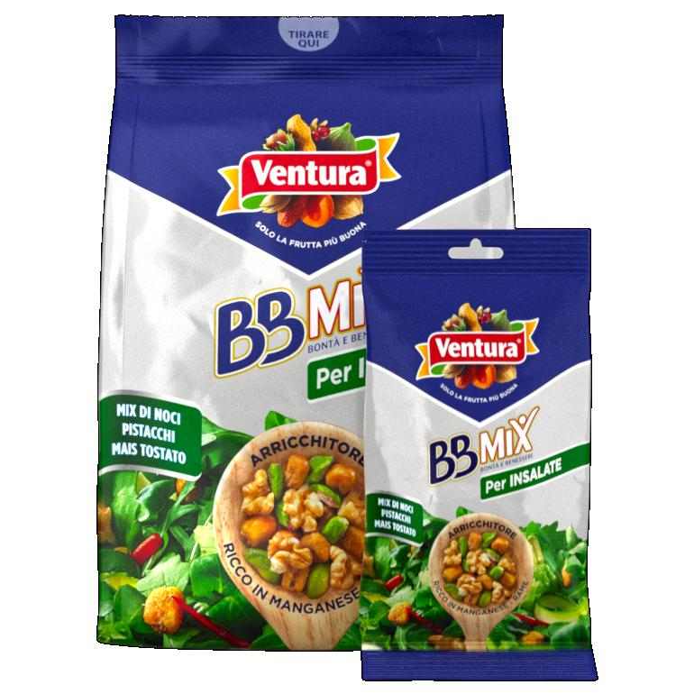 BBMix per insalate con frutta secca e disidratata