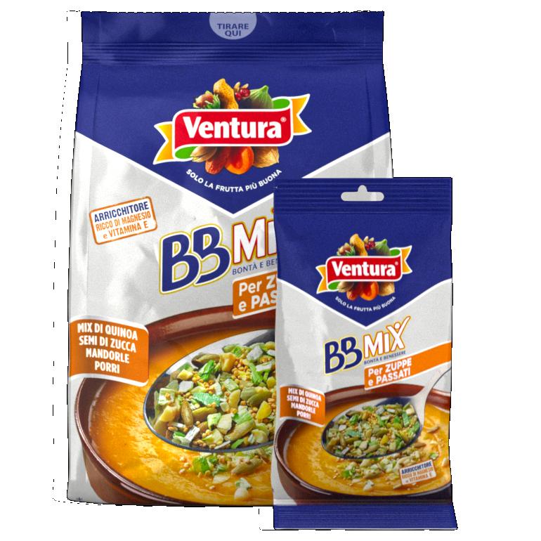 BBMix per zuppe e passati - Quinoa, semi di zucca, mandorle, porri