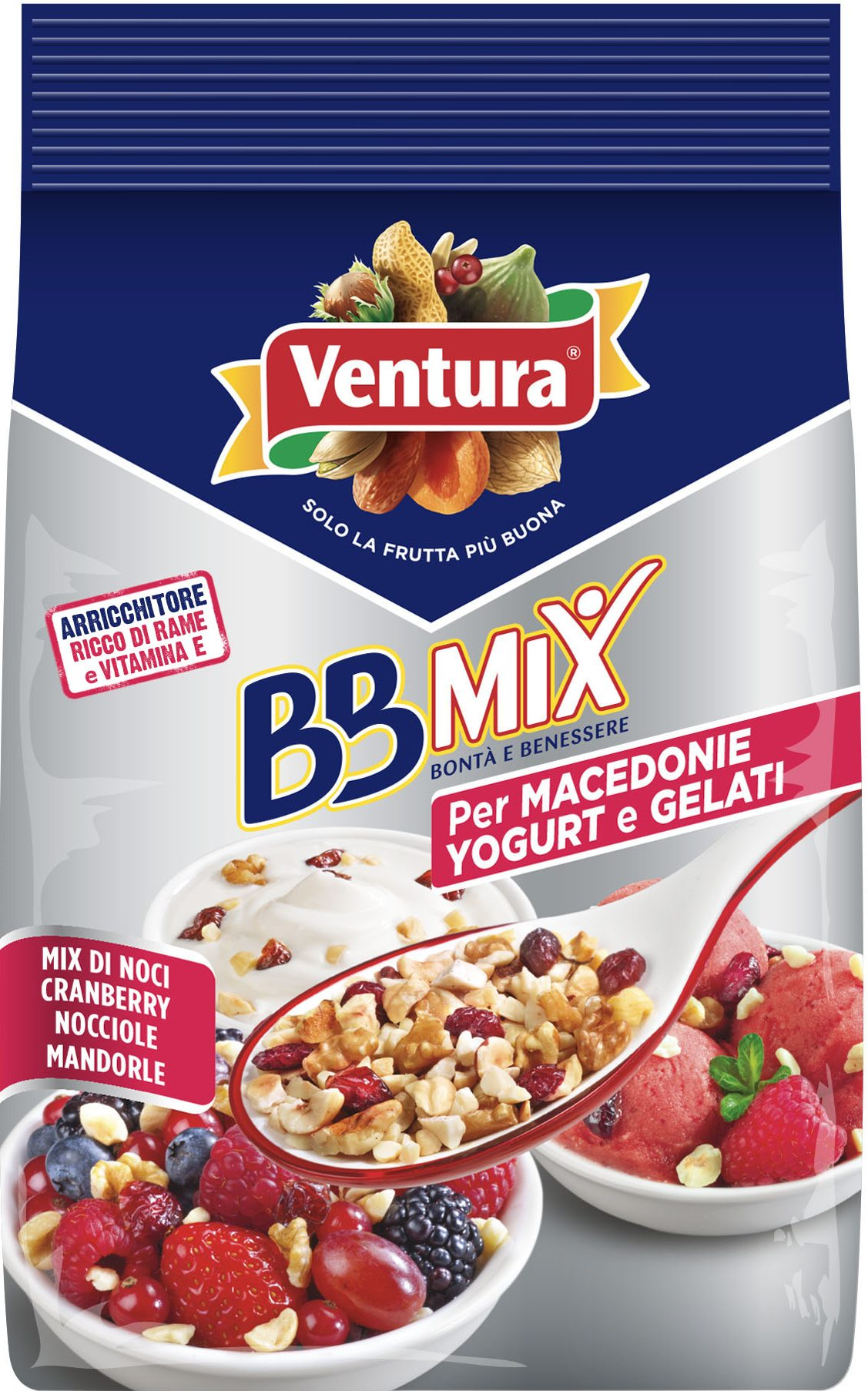 BBMix per macedonie, yogurt e gelati