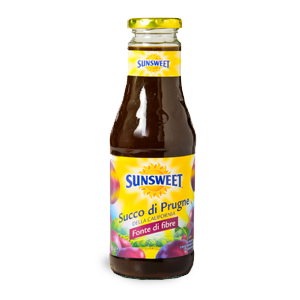 bottiglia succo prugne sunsweet
