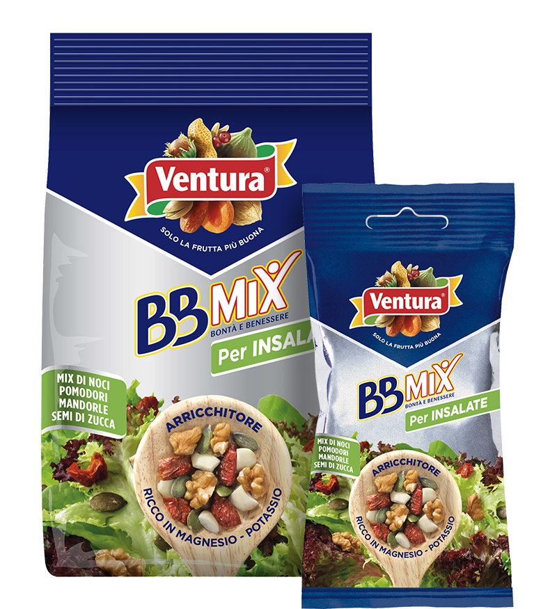 BBMix per insalate - Frutta secca, pomodori essiccati e semi di zucca
