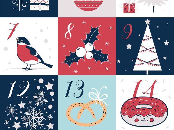Calendario dell'Avvento fai da te, per un Natale originale