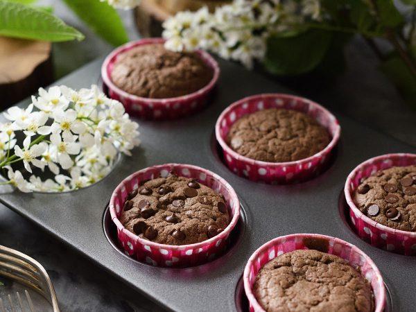 Per la festa della mamma, muffin cioccolato e frutta secca