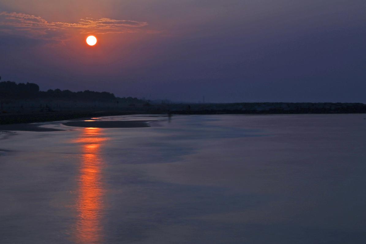 tramonto jesolo