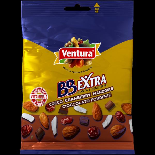 BBExtra Cocco Cranberry Mandorle Cioccolato Fondente