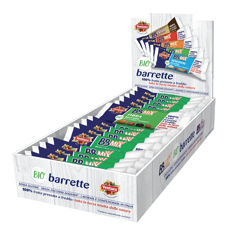 Bio barrette BBMix Fibra multipack 24 pezzi
