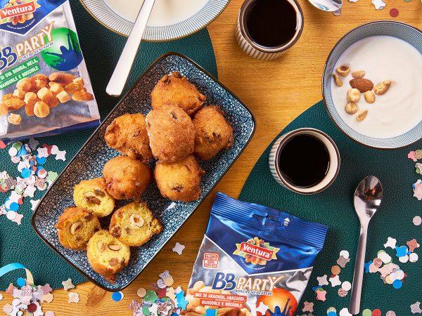 Dolce Carnevale: la ricetta delle frittelle con frutta secca