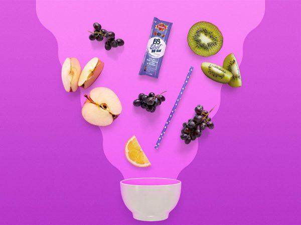 Break sano e goloso? Prova un frullato di frutta senza latte