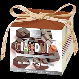 GIANDUIO - Cioccolatini biologici ripieni alla nocciola