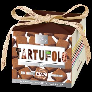 TARTUFOLO - Tartufini alla nocciola con cioccolato bio