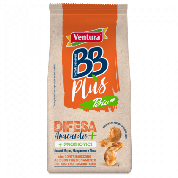 Difesa BBPlus Anacardi Bio con probiotici 100g
