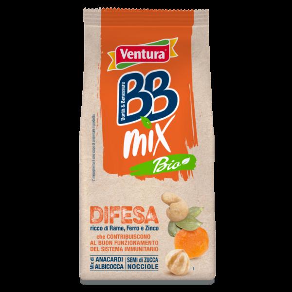 Difesa BBMix Bio Anacardi, Albicocche, Semi di Zucca, Nocciole 120g